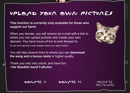 Donate and get music + VIP service!